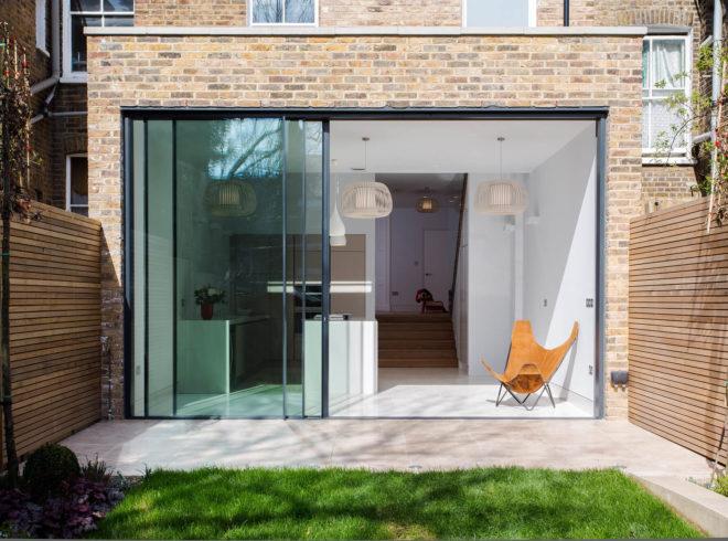 A minimalist kitchen extension in North London