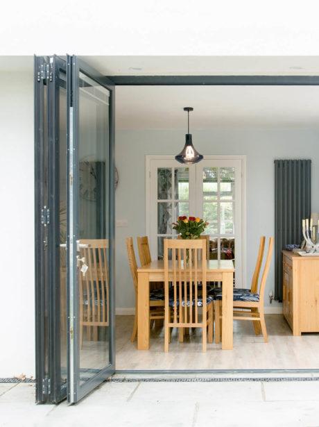 Outstanding double storey extension in Weybridge