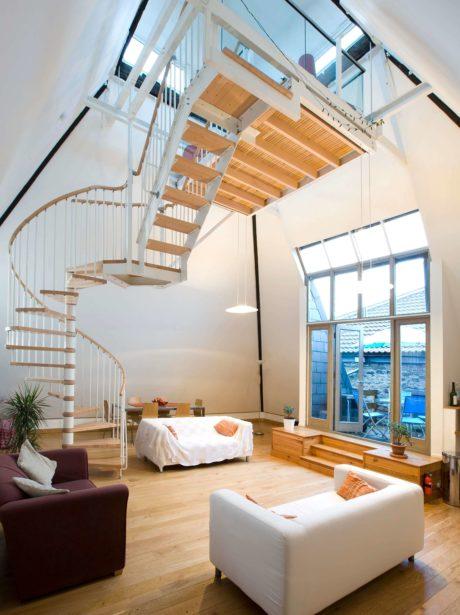 Conversion of malt house into ultimate loft living in Bristol