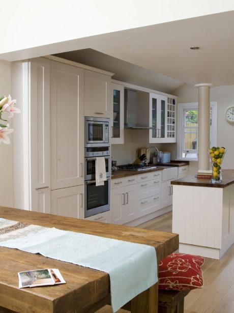 Split level side return kitchen extension in Wandsworth