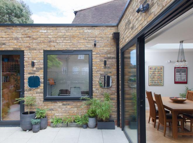 Single storey extension in Ealing
